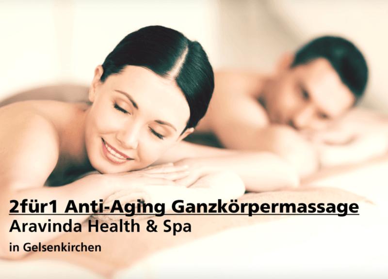 2für1 Anti-Aging Ganzkörpermassage - Aravinda Health & Spa - Nach Ausdruck maximal 30 Tage gültig!!!