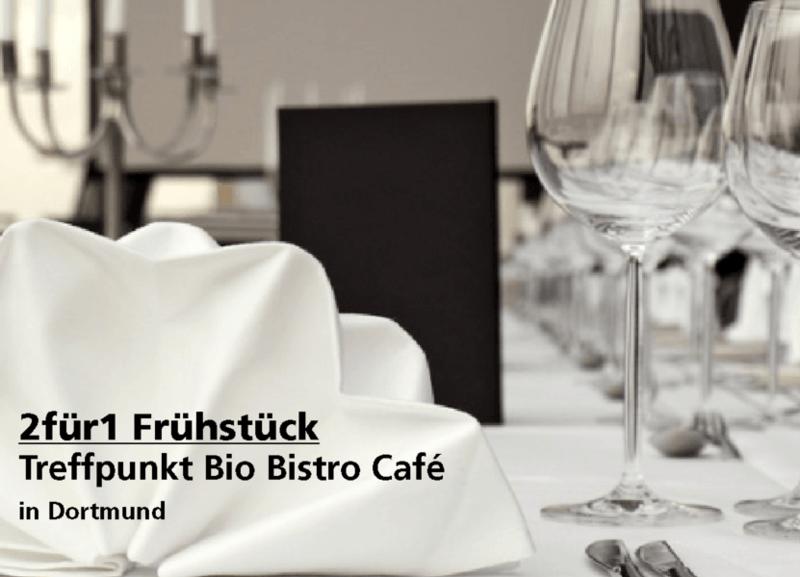 2für1 Frühstück - Treffpunkt Bio Bistro Café - Nach Ausdruck maximal 30 Tage gültig!!!