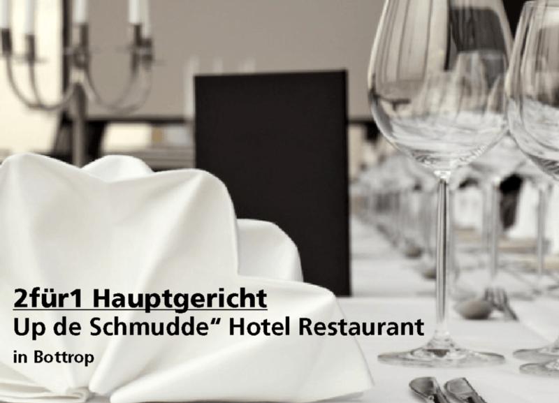 2für1 Hauptgericht - Up de Schmudde Hotel Restaurant - Nach Ausdruck maximal 30 Tage gültig!!!