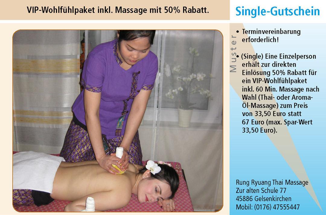 Thai Massage Gutschein Ruhrgebiet