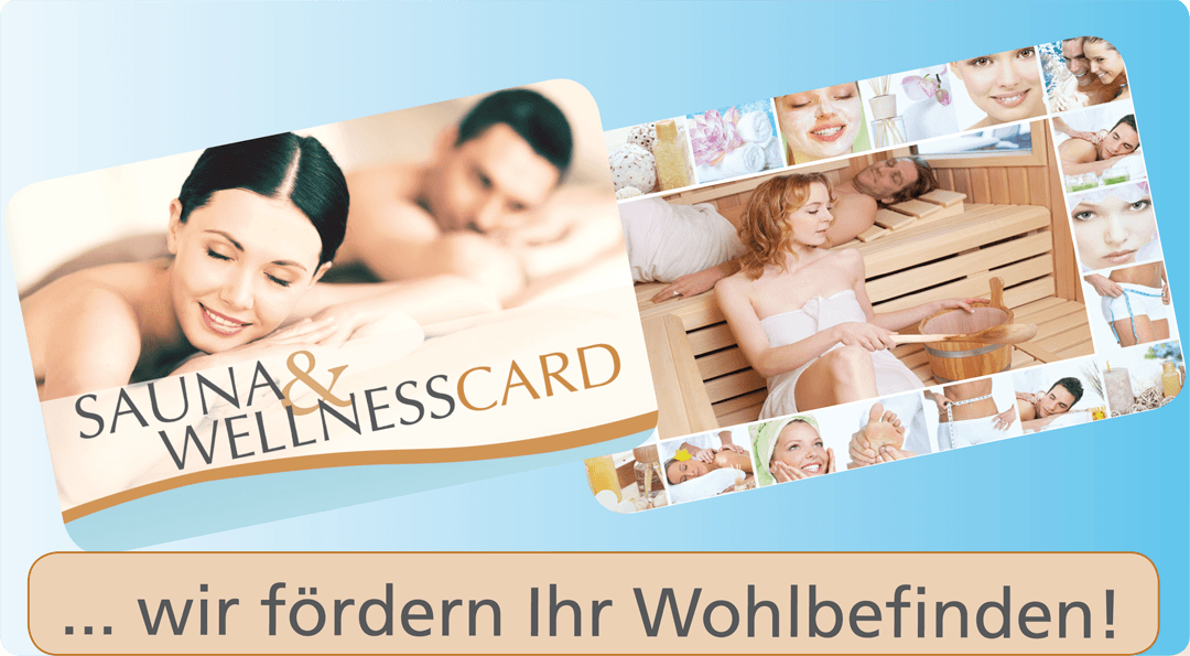 Sauna & Wellnes Card 2018 Ruhrgebiet