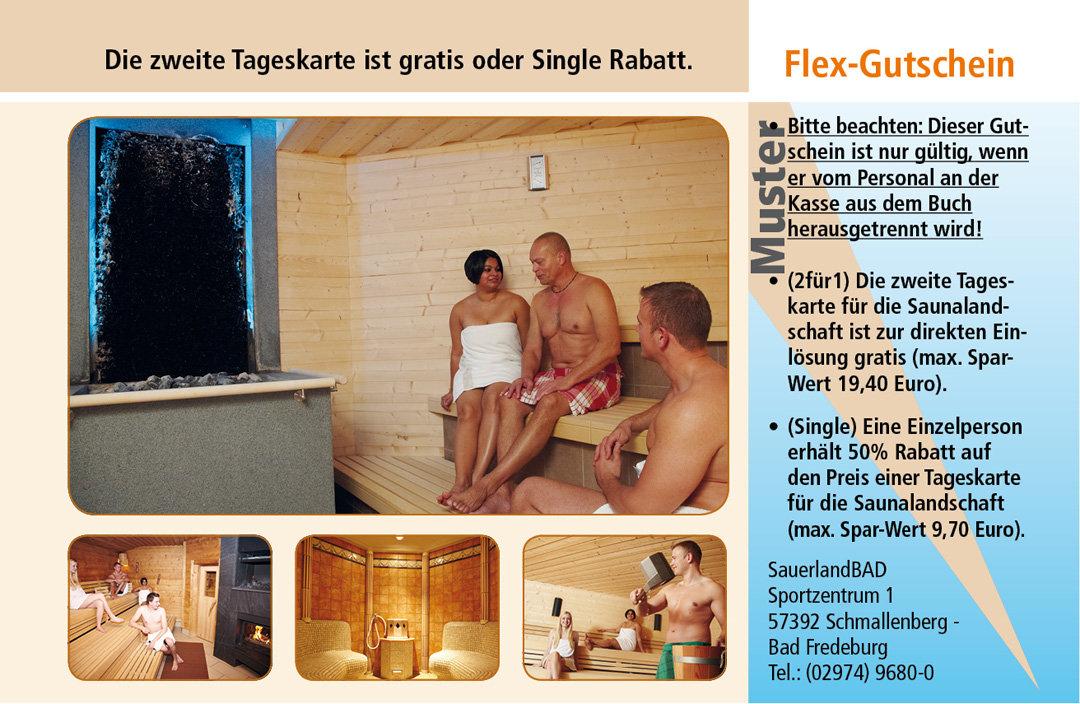 Sauna Gutschein Ruhrgebiet SauerlandBAD